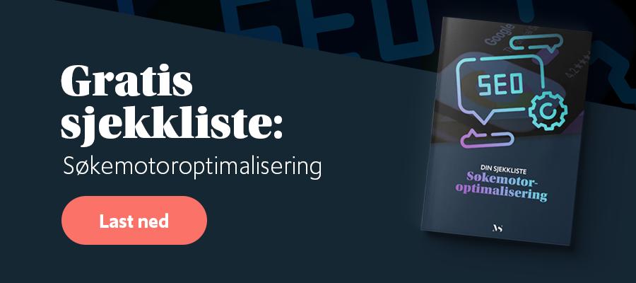 Gratis sjekkliste: Søkemotoroptimalisering