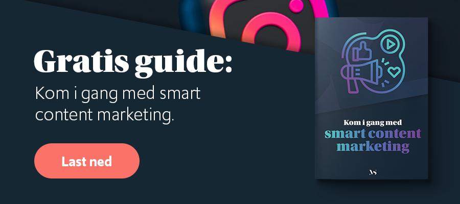 Gratis guide: Kom igang med smart content marketing i 2021