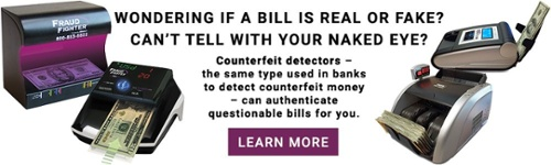 FraudFighter counterfeit detectors