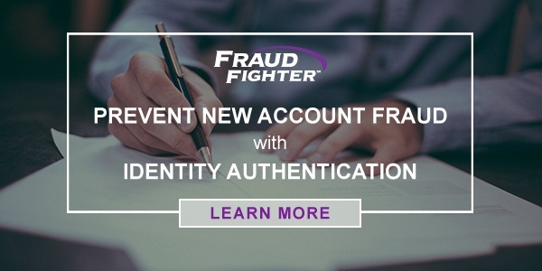 prevent new account fraud with identity authentication