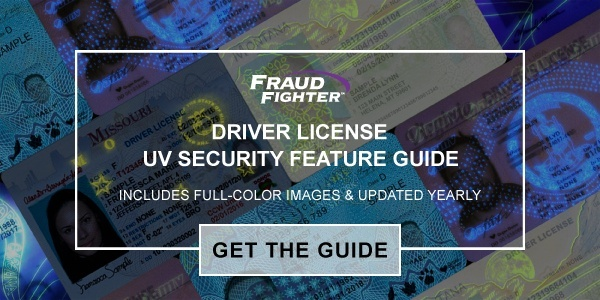driver license uv security feature guide