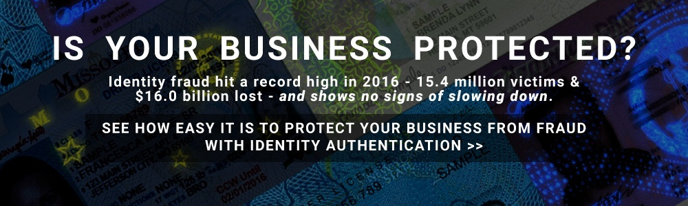 fraud prevention identity authentication