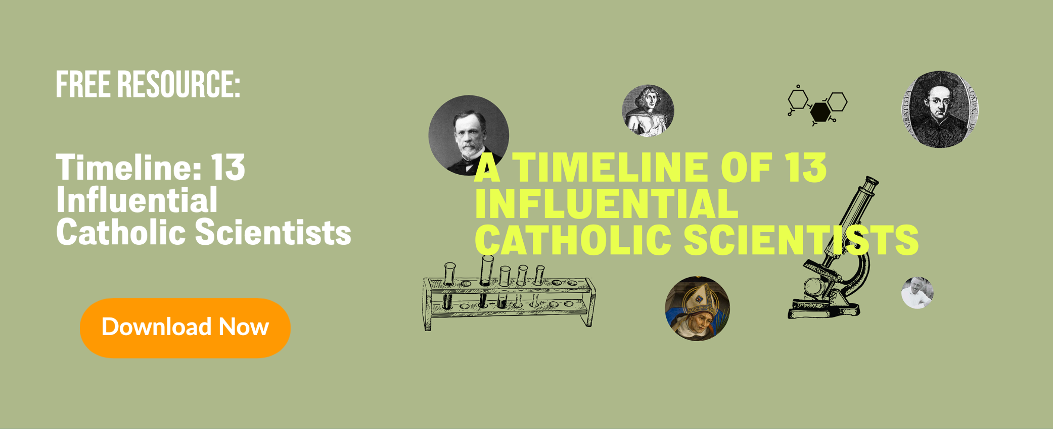 Timeline of Catholic Scientist
