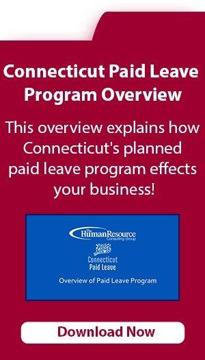 Connecticut Paid Leave Program Overview