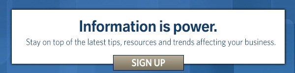 Information is power: Subscribe to our blog