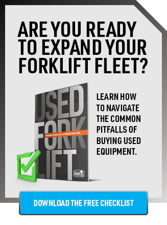 Used Forklift Buyer Checklist