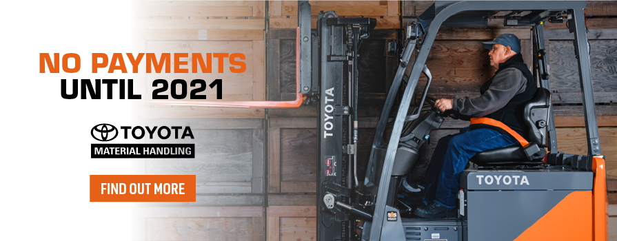 No Payments Until 2021 - Forklift Lease Special