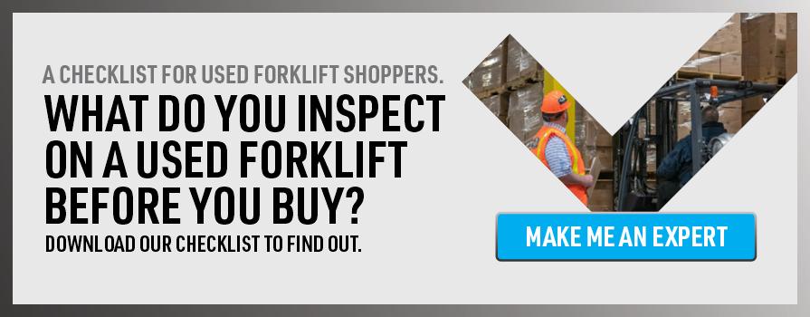 Used Forklift Checklist