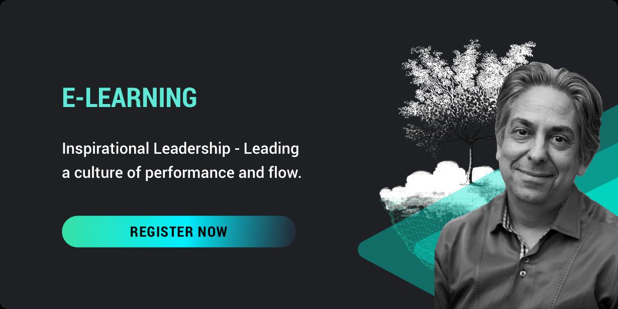 E-learning inspirational leadership