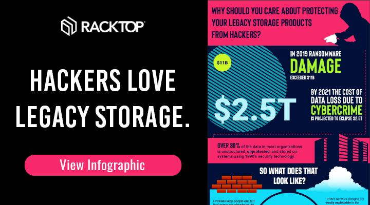 Hackers love legacy storage.