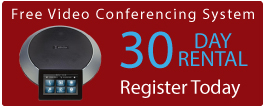 Free Video Conferencing Equipment 30 Day Rental