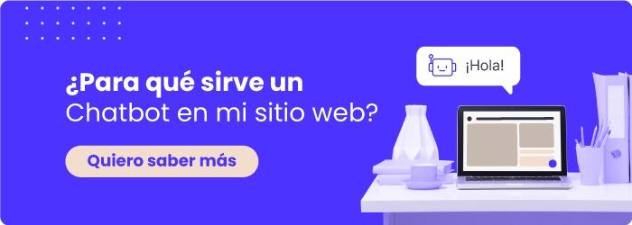 Chatbot en mi sitio web