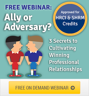 EBI Webinar Ally or Adversary Cultivating Professional Relationships