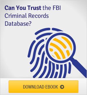 FBI Criminal Records Database