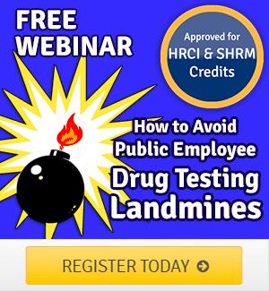 EBI Webinar Public Employee Drug Testing Webinar