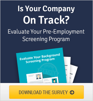 Pre-Employment Screening Survey
