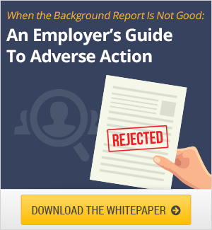 Employer Guide to Adverse Action