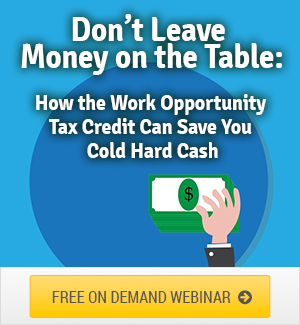 Work Opportunity Tax Credit Webinar Download