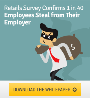 Retail Survey Confirms One In Forty Employees Steal From Their Employer