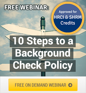 How to Write a Background Check Policy