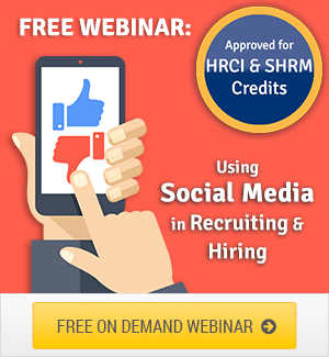 Webinar - Social Media for Recruiting, Screening, Hiring