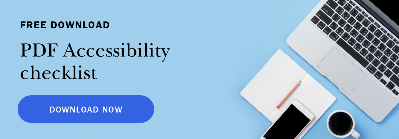 Click here to download your free PDF accessibility checklist