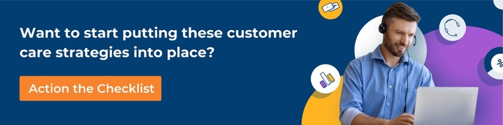 quality customer care checklist