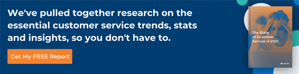ToF stats and insights essential customer service trends