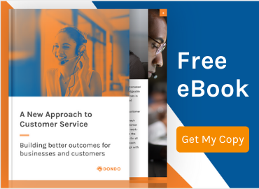 ebook about a new approach to customer service