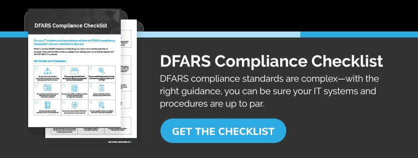 Get the DFARS Compliance Checklist