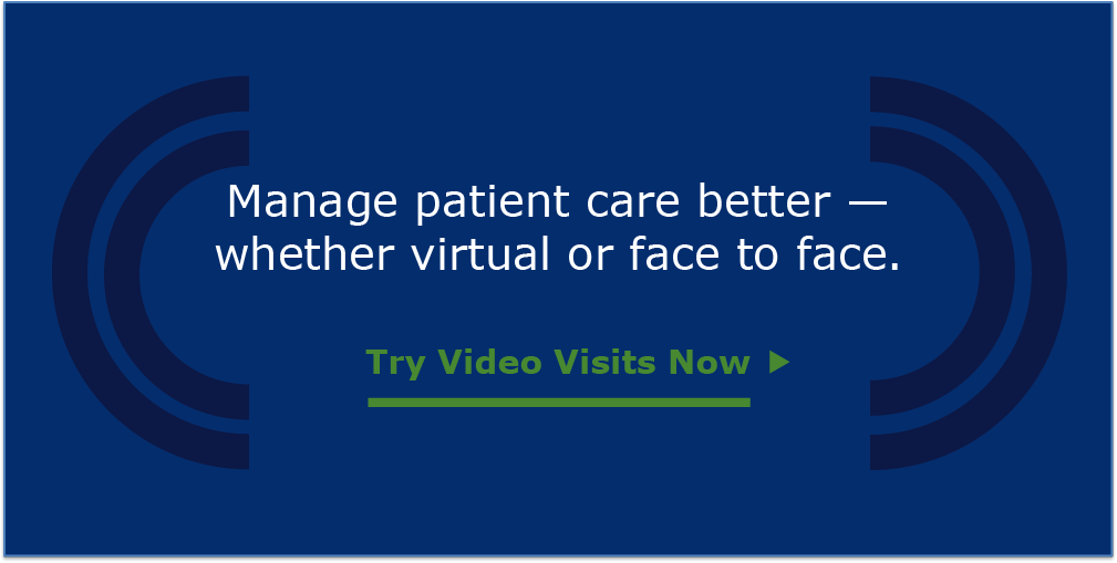 Try telehealth. Book a demo now.