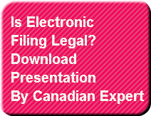 Is Electronic filing legal?  Button