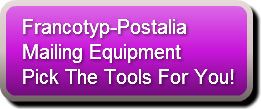 Francotyp-Postalia Mailing Equipment button