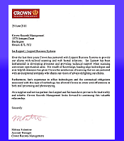 Crown Records Testimonial