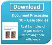 Document Processing - 10 Case Studies Download