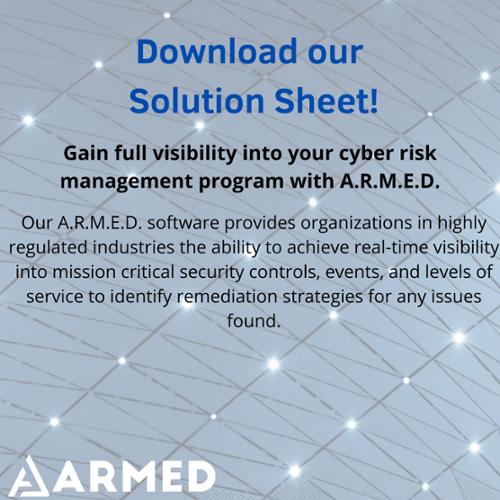 Download the ARMED Infosheet for Defense Industrial Base