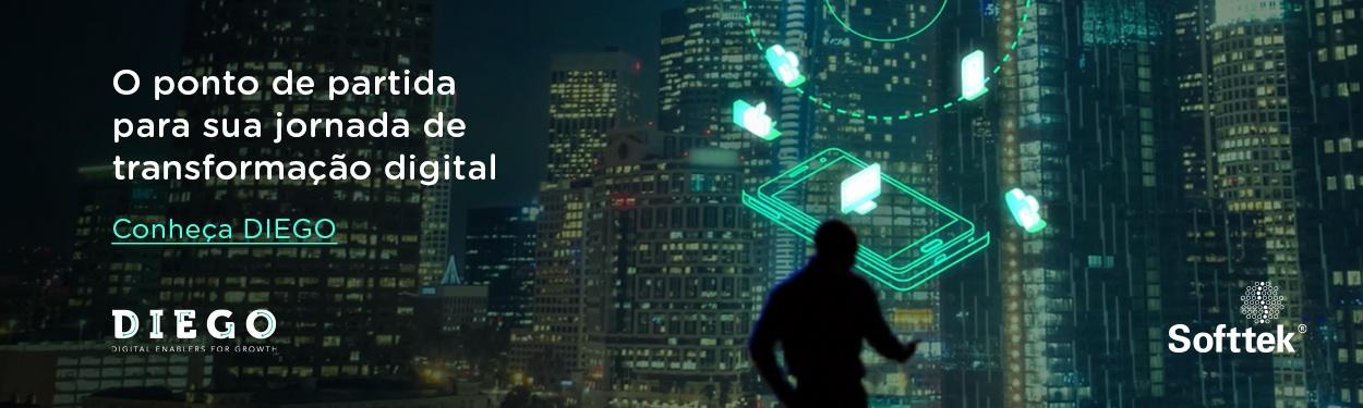 Conheça DIEGO. O ponto de partida para sua jornada de transformação digital