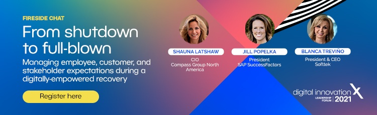 From Shutdown to Fullblown, a fireside chat featuring Softtek President and CEO. Register here.