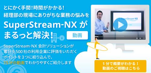 経理部の現場にありがちな業務の悩みをSuperStream-NXがまるっと解決