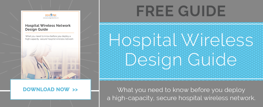 hospital wireless network design, wireless technology in hospitals, hospital wlan design,
