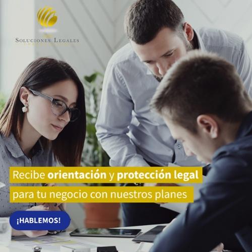 Recibe orientación y protección legal para tu negocio con nuestros planes