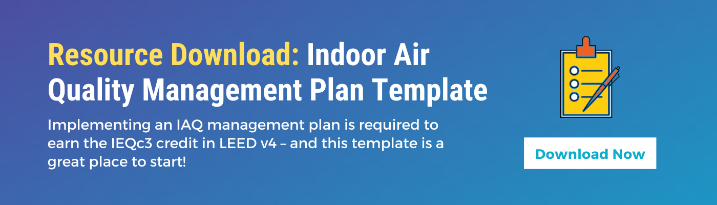 Green Badger indoor Air Quality Management Plan Template Download