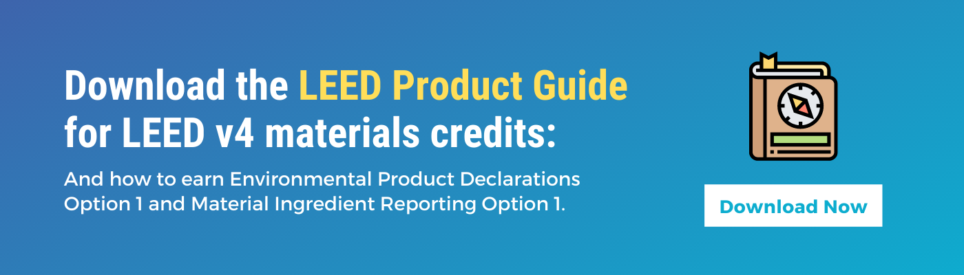 LEED Product Guide Download CTA
