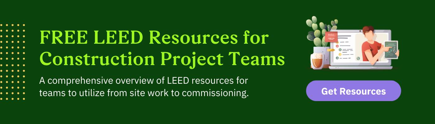 Green Badger's LEED Resources