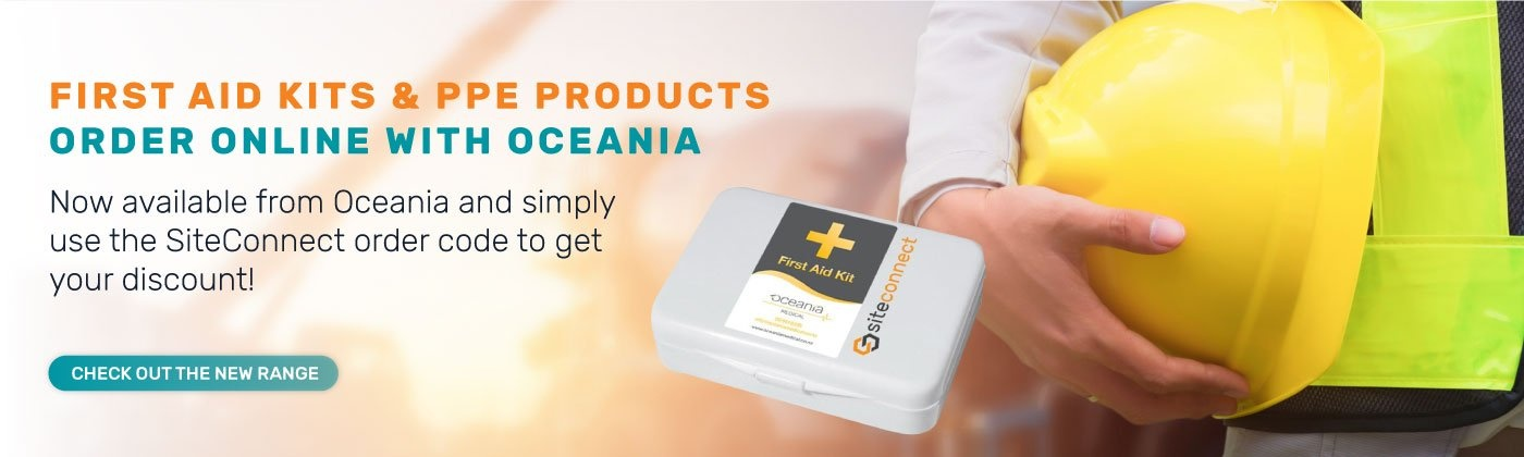 Order your First Aid Kits and PPE products online with Oceania Medical