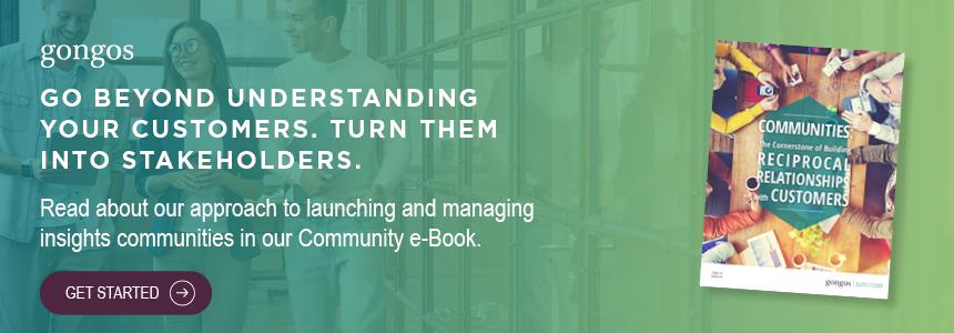 CTA Gongos Communities E-book