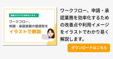 AppRemoイラストで易しく解説ガイド ~テレワークと申請・承認業務の理想形とは~