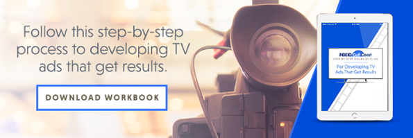 Step by Step Visual Outline For Developing TV Ads That Get Results