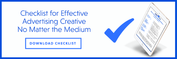 Checklist for Effective Advertising Creative No Matter the Medium