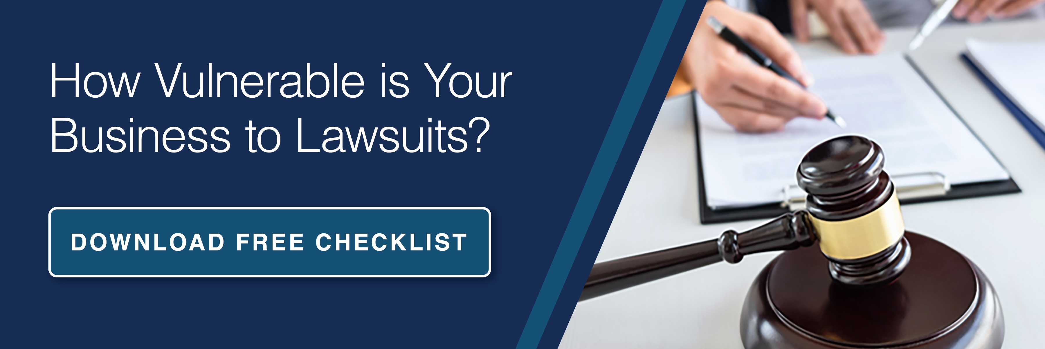 How Vulnerable is your business to lawsuits ebook CTA